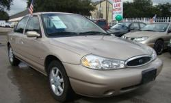 *****1999 FORD CONTOUR SE 2.0L 4CYL***** CLEAN/BLUE TITLE*AC ICE COLD/HEATER*AM/FM/CD RADIO TIRES IN OK CONDITION*POWER LOCKS*POWER WINDOWS 80K MILES*ORIGINAL MILES*NO MECHANICAL OR ELECTRICAL PROBLEMS $1,995.00 CASH ONLY*WE DO NOT FINANCE*SOLO AL