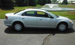 * 148,933 MILES * CLEAN INTERIOR * CLOTH SEATS * CD PLAYER AM / FM RADIO * ALL WINDOWS WORK * BREAKS ARE IN GREAT CONDITION * RECENTLY SERVICED 04 CHRYSLER SEBRING./ COLOR ( SILVER ) / A NICE FOUR DOOR CAR. IT RUNS AND DRIVES FANTASTIC. THERE ARE NO