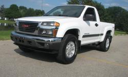 I have a 2004 GMC canyon that runs and drives great. Has 106,900 miles on it, this truck is very clean inside and out! It has power windows and locks, and the Off Road pkg, but is 2WD If you have any questions, feel free to contact 30.9-645.5859
