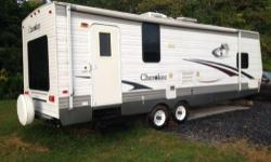 This camper is being sold because our family simply doesn't use it enough. The camper was typically used for 2-3 weeks each year. Otherwise, it has been garage kept for most of its life. This means the condition is excellent. Sleeps 5 (bedroom, kitchen