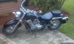 Bike is ablack VT750 with a little over 7500 miles. Only thing it needs is a right side mirror(stolen) and a new owner. I love the bike, but cannot ride much due to back problems.