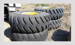 4 Toyo Scraper Tires (2) 24.00-29 (2) 21.00-25 Call to make offer. - See more at: http://www.heavyequipmentregistry.com/heavy-equipment/16226.htm#sthash.tR7cqltC.dpuf