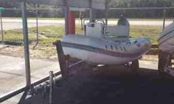 We have for sale a 10' inflatable boat without a trailer. It has a 20 hp Honda outboard engine. This is a great boat! $3,800 and this beauty is yours. It runs great and needs nothing. Call or text me at 305-927-6680 if you have any questions.