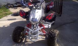 110 CT Quad for sale, low hours, includes remote control start. Call for details 323 482 9581