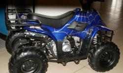 NEW 110 CC ATV 4 WHEELER GAS ELT START ALL GAS UP AND READY TO GO LAYAWAYS WELCOME WE HAVE RED /BLUE / BLACK / GREEN CAMO / PINK CAMO / BLUE OR RED OR BLACK SPIDER WE ARE USA POWER SPORTS LLC 6521 N US HWY 41 SHELBURN IN 47879 --