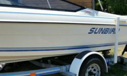 1991 I/O,SKI OR FISHING, NEW TIRES, RUNS GREAT,NEW BATTERY,NEW RUNNERS ON TRAILER.