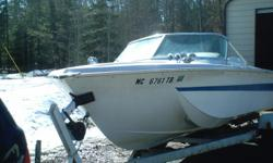 1968 chrysler charger fiberglass semi trihull, 80hp johnson ,lonestar trailer . Runs good, rides good. 800.00 o/b offer. Call 989-590-0132 if no answer please leave voice. I will call you back. I can receive emails, but have a hard time sending them email