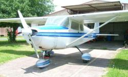 Cessna 172 $20,000 CASH or Trade??? call 7one3-two59-17five4 Tell me what you have I have a Really nice 172 4 passenger airplane just went out of annual just needs inspection to be ready to fly all times TT around 5000 SMOH 1500 and 350 on a total top end