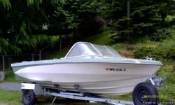 Nice boat for water sports or fishing. Runs excellent with 4 cylinder GM engine. Newer seats,carpet and fueltank. Includes EZ load trailer and cover. $2500 OBO. call Bill 425-232-3346