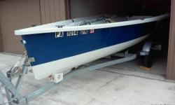 2006vanguard nomad sailboat and trailer. Excellent condition. New dacron main with 2 reef points and jiffy reefing. Torqueedo electric outboard.. Many accessories