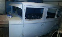 1929 chevy 4door sedan , org motor and tran with all parts, clean title and org papers