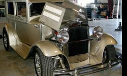 1929 Essex 2DR Sedan ..New Build ..On Great Barn Find ..Rust Free Car before Rebuild ..350 V8 ..New Champagne Paint Excellent ..New Custom Interior ..Cost to Build Today $100,000 ..Great Buy at Only $45,000 ..e-Mail or Call for many Photos ..Call Rod: --