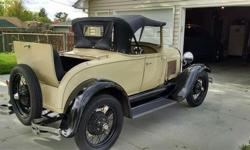 Recent motor maintenance-https://www.cacars.com/Car/Ford/Model_A/1930_Ford_Model_A_for_sale_1012587.html