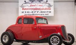 """Menu Price $39950.00! The Catfish Coupe started out with a 1933 Ford Boxed frame with raised front crossmember and 1933 Ford 5 window coupe metal body. A 1969 Ford 429, 385 series motor is mated to the Ford C-6 transmission and Ford 9"""" rear end with 3:50"""
