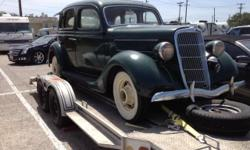 1935 Ford 4-doors Sedan, in good condition, matching engine and frame serial numbers. Asking $15,000 for more information call or text me. Joe 210-284-3446