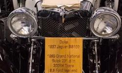 """1937 Jaguar SS100 """"Duke"""" Kit carby Classic Roadsters Ltd! Menu Price $20950.00! The kit was manufactured in 1981, and the car was finished and registered in 1986! Classic Roadsters was in business from 1979 until around 2004 or so."""
