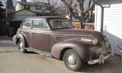 Year: 1939 Make: Buick Model: Series 43 Mileage: 39,906 miles Interior Color: Grey Exterior Color: Purple Owned by my father who bought it new.