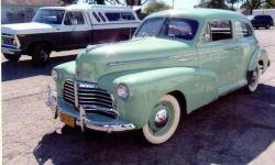 This rare car has the original 216ci straight-6 engine and a 3 speed manual transmission. This is a numbers matching, restored all original Fleetmaster coupe. This '42 was originally placed into service as a WWII military staff car as evidenced by the
