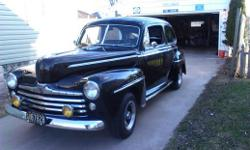 Make: Ford Model: Coupe Year: 1946 Exterior Color: Black Interior Color: Black Doors: Two Door Vehicle Condition: Very Good  Price: $14,500 Mileage:1,000 mi Fuel: Gasoline Engine: 8 Cylinder Transmission: Automatic Drivetrain: Rear