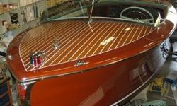 BOAT OWNER?S NOTES for 1947 CENTURY Seamaid - Fully Restored - OVERVIEW: This boat is better than new! Four years and over $95,000 invested at Dave Jerome?s Classic Restorations make this a museum piece, Boat should take first or second at any boat show