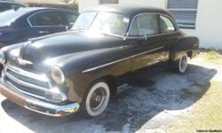 I have a 1951 Chevy coupe in good condition needs some TLC CALL IVAN IF interested 7274215858 asking 8500