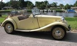 1952 MG TD/C Roadster For Sale in Bradenton, Florida 34209 If you are searching for a timeless classic that is laced with nostalgic charm then look no further because this 1952 MG TD Roadster is the one for you! This two-door convertible