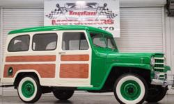 Easycredit apply with your phone, Ipad or computer Menu Price $35950.00! An incrediblly done complete restoration! This 1952 Willys Jeep Wagon 4X4 has had every nut and bolt turned and needs absolutely nothing! Powered by a period correct 6-226