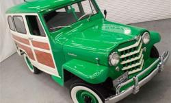 apply for credit here : https://vpix.us/credit/dealer/jordanmotors10west/ An incrediblly done complete restoration! This 1952 Willys Jeep Wagon 4X4 has had every nut and bolt turned and needs absolutely nothing! Powered by a period
