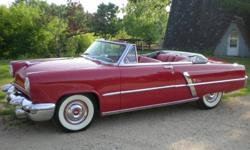 1953 Lincoln Capri Convertible For Sale in DePere, Wisconsin 54115 * More Photos Available Upon Request *  If you are searching for a beautiful classic car that is brimming with luxury and legacy then look no further because this 1953 Lincoln