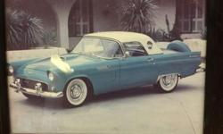 Mileage: 63,000 miles Interior Color: Teal Blue Exterior Color: Teal Blue Equipped with the 312 C.I. V8, automatic transmission, factory and guages, clock, tinted glass, Kelsey Hayes wire wheels, wide whitewall tires, fender skirts, continental kit, am/fm