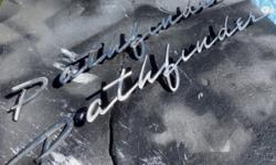 1957 1958 Pontiac Pathfinder Emblems $125.00 pr.