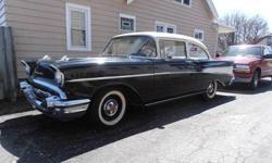 Make: Chevrolet Model: Other Year: 1957 Exterior Color: Black Interior Color: Black Doors: Two Door Vehicle Condition: Very Good  Price: $36,000 Mileage:49,235 mi Fuel: Gasoline Engine: 6 Cylinder Gasoline Transmission: