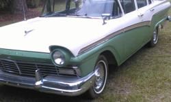 1957 Ford Fairline Original with 272 Eng. Auto tran. Car has 74,000 miles Engine has new parts with 15,000 miles. For more infor, call or text Jesse Fields At 912-429-3185 Asking $13,500 Confirm.