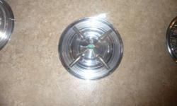 """(1) 1957 olds 14"""" Spinner Hubcap $65.00..also have others."""
