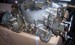 1957 Pontiac 4bbl Carn Intake & Oil Bath Air Cleaner $425.00