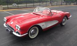 1958 Chevrolet Corvette Dual Quad Wow. An incredible rotisserie restoration. A true factory Dual Quad four-speed car. This is a numbers correct car....the motor and body were both December 1957 build dates. Absolutely needs nothing in showroom condition.