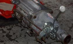 A 1958 CORVETTE T-10 4 SPEED W/O LINKAGE VERRY T[P SHAPE