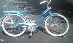 """This bike is in excellent condition. Needs new pedals and original seat. Seat is """"Bell"""" brand, not original. Call for more details 1---."""
