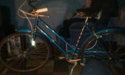 1960 AMF Hercules 26 in 3speed made in NottinghamEngland bike all original asking $50 for more info call mark 3174643335