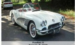 1960 Chevrolet Corvette , Call for mileage Address: Sarasota, FL 34238 View our website: www.freerek15.com Notes: 1960 Corvette. I bought this car out of a museum in pa. N drove it home. It is a super car.Runs And drives fantastic. 4 Sp coker