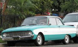 1960 ford falcon TWO DOOR!! First year Ford introduce the Falcon! Although it pains me to let it go, I am now looking to hand it over to a classic car enthusiast looking for a great ride! Can use some upgraded parts but serves well as a Point A to Point B