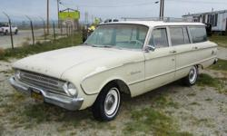 1960 FORD FALCON WAGON VIN: 1R22U147421 170 INLINE 6 3 ON THE TREE REAR WHEEL DRIVE MILEAGE??36011 THIS IS A 5 DIGIT ODOMETER SELLING FOR??$4,595