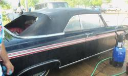 """Reason Selling: """"My health won't allow me to finish restoring"""" 1962 Galaxie 500 XL Convertible - (Lemmon, So. Dak.) condition: good 1962 Ford Galaxie 500 XL Convertible transmission : automatic title status : clean This Car is Black with Red and Chrome"""