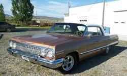 1963 Chevrolet Impala SS For Sale In Caldwell, Montana 59721 This 1963 Chevrolet Impala SS has been completely restored. Take a step back in time with this classic! This Impala Super Sport features a distinctive styling that is dressed in beautiful