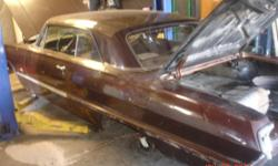 1963 Chevy Impala, asking $5500 OBO for the car & everything that comes with it, this a (STARTED PROJECT), but I am unable to finish at this time, so the car is in the paint shop right now, but if you purchase you can pick your color for the car, but the