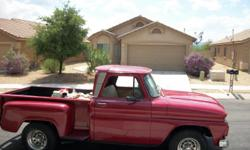 1964 Chevy Stepside Pickup,Automatic Transmission,302 CU IN Engine nice and clean.