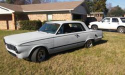 1964 Plymouth Valiant It has 1999 Dodge 5.2L Fuel Injected Engine with 44k original miles. Cranks and runs like a brand new car, added mini starter to clear headers if needed. Have upgraded to 4 wheel disc brakes, with these wide tires IT STOPS on a