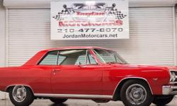 Menu Price $27999.00! Beautifully restored 1965 Chevrolet Malibu SS Resto-mod! Starting with the drive train, a 465hp Dominator 383 Stroker V8 with 509lbft of torque mated to a 700R4 4spd automatic transmission hooked up to a GM 12-bolt rear