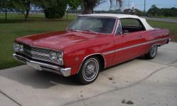 1965 Chevelle Malibu Conv Rebuilt 283 & AT, Alum Rad With Elect Fan, HEI Dist, , (Lots of Chrome & Billet), New PDB, Vintage AC, NewDakota Dash, Vintage AC, In Dash FM Stereo With Ipod & MP/3 Ports, Rebuilt Front Susp. 3:08 Rear, White Power