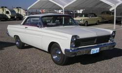 1965 Mercury Comet Numbers Matching Car, 289 Engine w/ RV Cam, C-4 Auto Trans, Dual Exhaust, Power Steering, New Interior, Nice Paint (w/ Pinstriping) & Chrome and More! $24,995 - Ask About Our On-The-Spot Financing (o.a.c.) Phone Number: (Nine Two Eight)